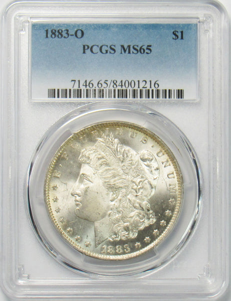 1883 O $1 Morgan Silver Dollar PCGS MS65