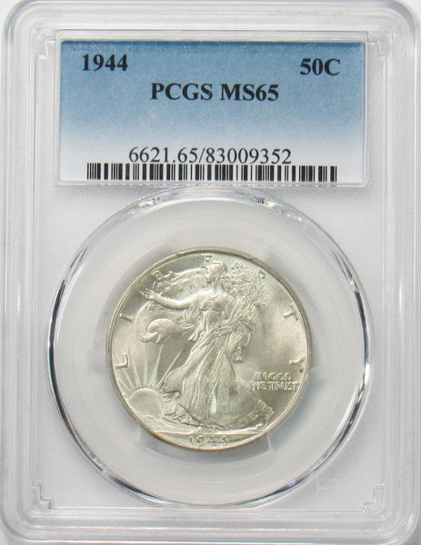 1944 50¢ Walking Liberty Half Dollar PCGS MS65