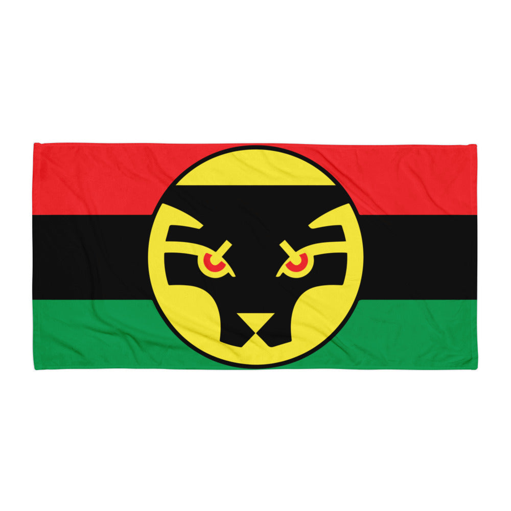 Wakanda Flag Beach Towel