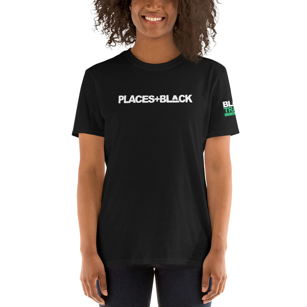 Places+Black T-Shirt