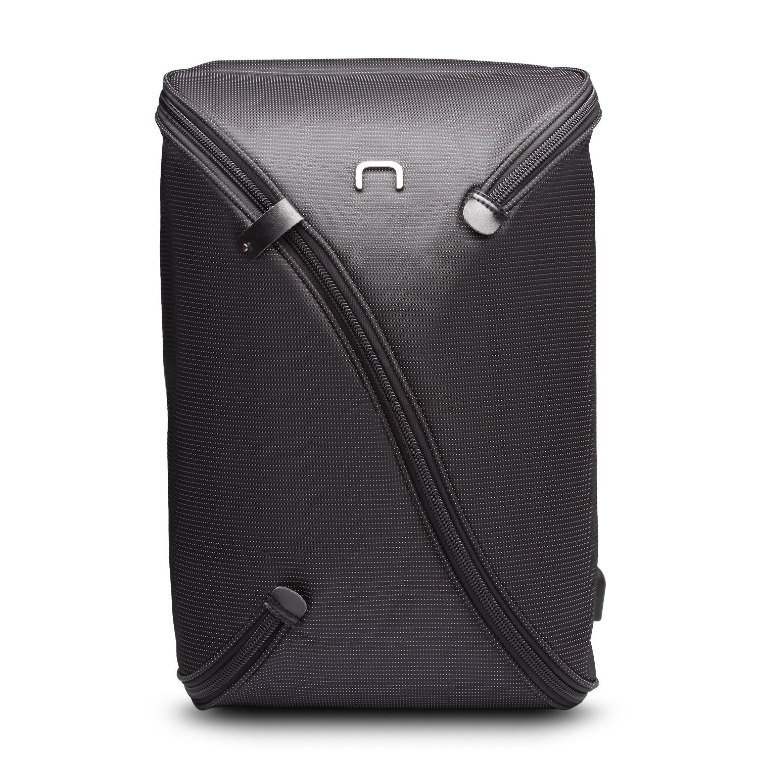 UNO Water Repellent Laptop Backpack w/USB Charging Port