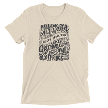 Marin Headlands Trail Names - Short sleeve t-shirt