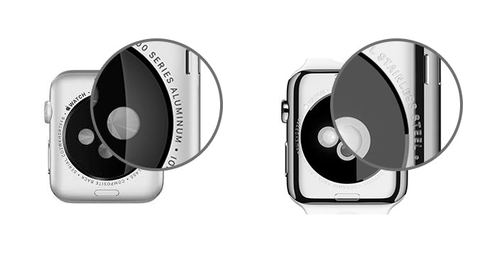 Where to look to figure out which type of color and finish of your Apple Watch model.