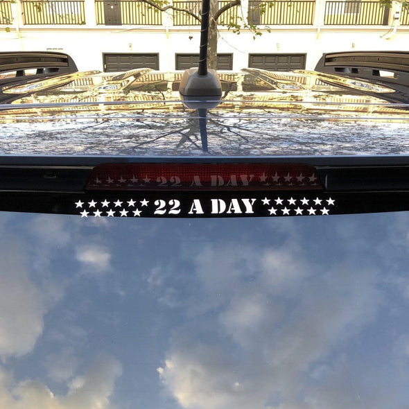 22 A Day Decal (12 inch)