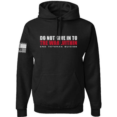 Do Not Give In - Black Hoodie