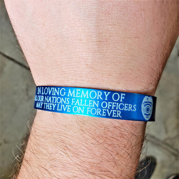 Back The Blue - Memorial Band