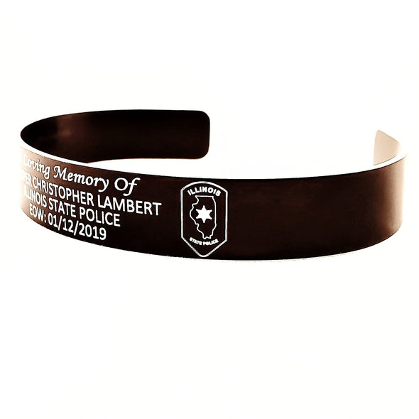 Trooper Christopher Lambert Memorial Bracelet