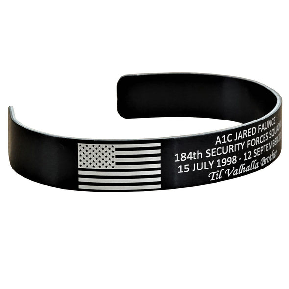 A1C Jared Faunce Memorial Bracelet