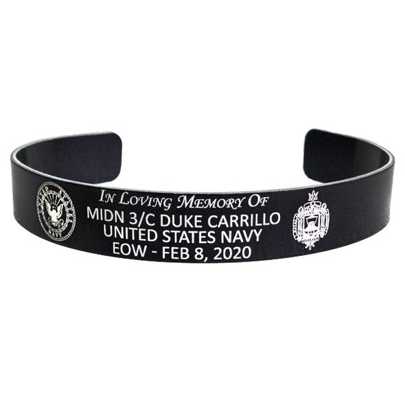 MIDN 3/C Duke Carillo Memorial Bracelet