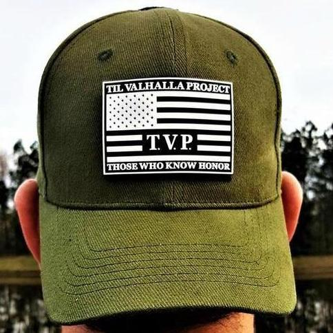 Tactical T.V.P. Hat w/ PVC Rubber Patch - Military Green