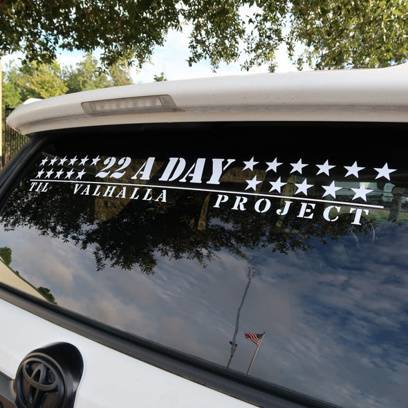 22 A Day Decal (36 inch)