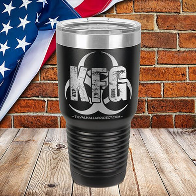 KFG (Keep F'N Going) Quarantine Edition - Laser Etched Tumbler