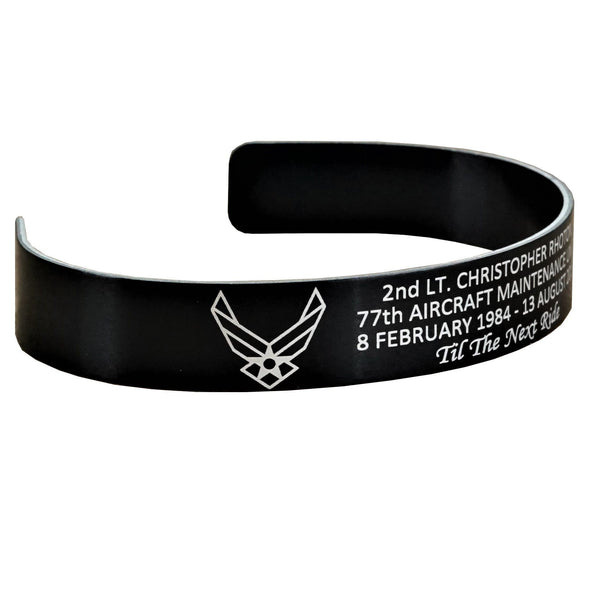 2nd Lt. Christopher Rhoton Memorial Bracelet