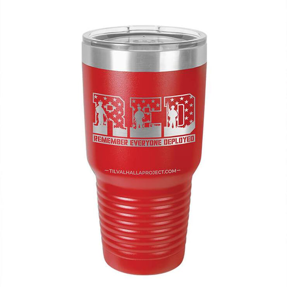 Remember Everyone Deployed - Laser Etched Tumbler