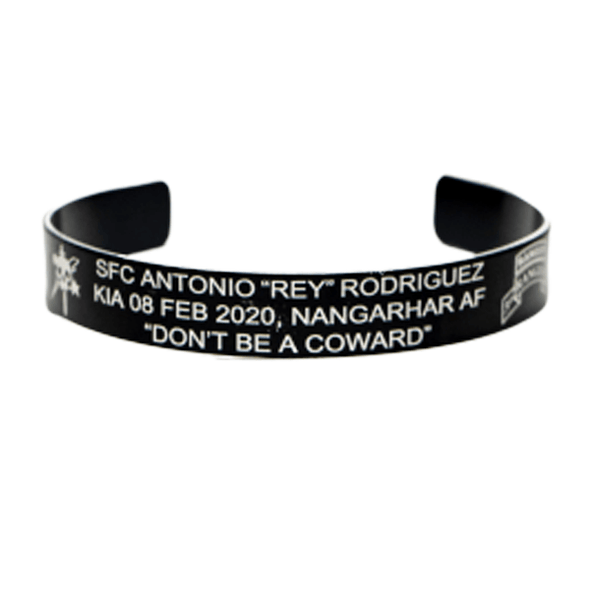 SFC Antonio Rodríguez Memorial Band (Front & Inside)