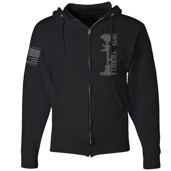 Until Valhalla - Zip Up Hoodie