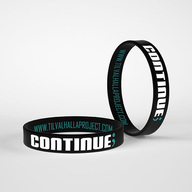 Continue; - Silicone Band