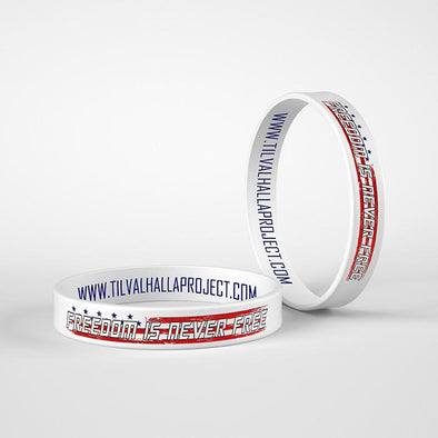 Freedom Is Never Free - Silicone Band