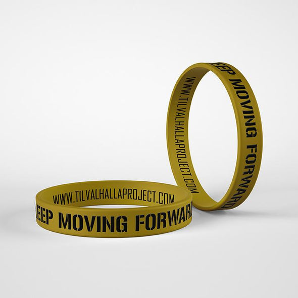 Keep Moving Forward - Silicone Band