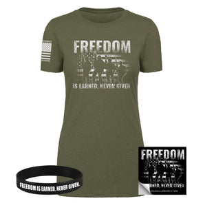Freedom Is Earned Bundle - Women's