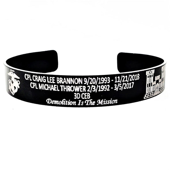 CPL Brannon & CPL Thrower Memorial Bracelet