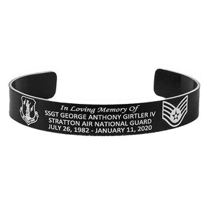 Ssgt George Anthony Girtler IV Memorial Bracelet
