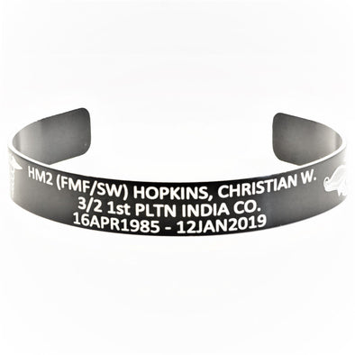 HM2(FMF/SW) Christian W. Hopkins Memorial Bracelet