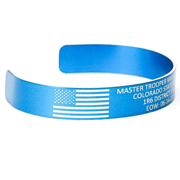 Master Trooper William Moden Memorial Bracelet
