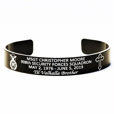 MSGT Christopher Moore Memorial Bracelet