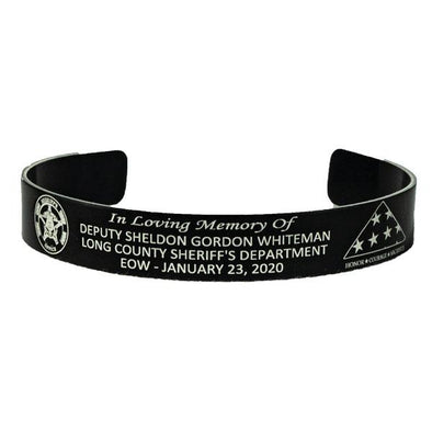 Deputy Sheldon Gordon Whiteman Memorial Bracelet