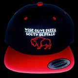 Wise Guys Buffalo Hat (Black & Red)