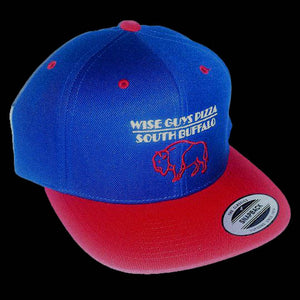 Wise Guys Buffalo Hat (Blue & Red)