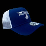 Wise Guys Pizza Hat (Blue & White)