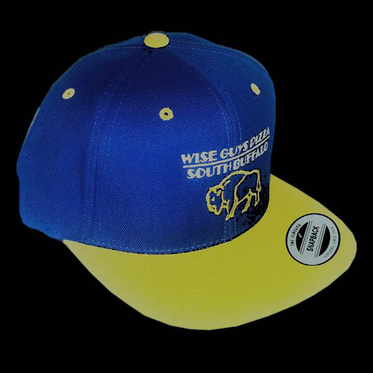 Wise Guys Buffalo Hat (Blue & Yellow)