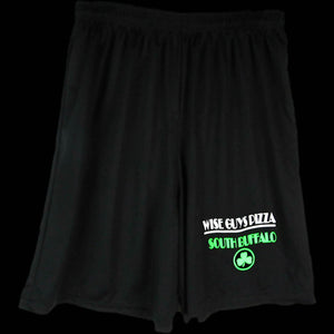 Black & Green Shorts