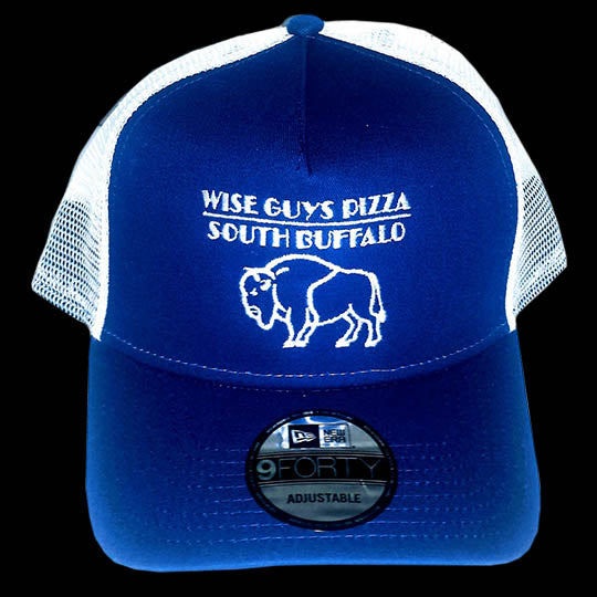 Wise Guys Buffalo Hat (White & Blue)