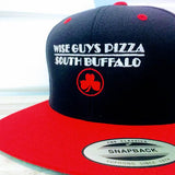 Wise Guys Pizza Hat (Black & Red)
