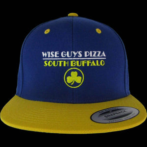 Wise Guys Pizza Hat (Blue & Yellow)