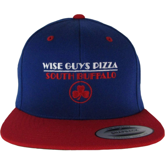 Wise Guys Pizza Hat (Blue & Red)