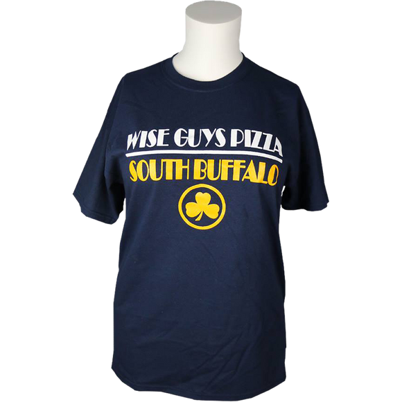 Blue, Yellow, White Wise Guys T-Shirt