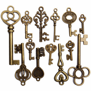 Antique Keys For  Crafts & Decor