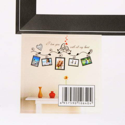 1pcs Photo Picture Frame Removable Wall Sticker