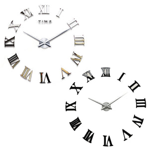 Large Retro - Wall Clock with Vintage Style