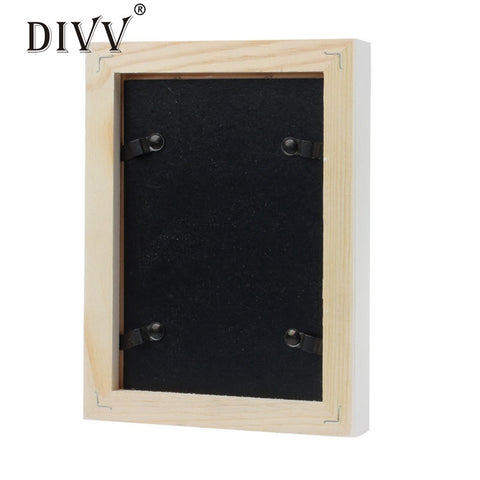 Wooden Picture Frame Wall Mounted Hanging Photo Frame