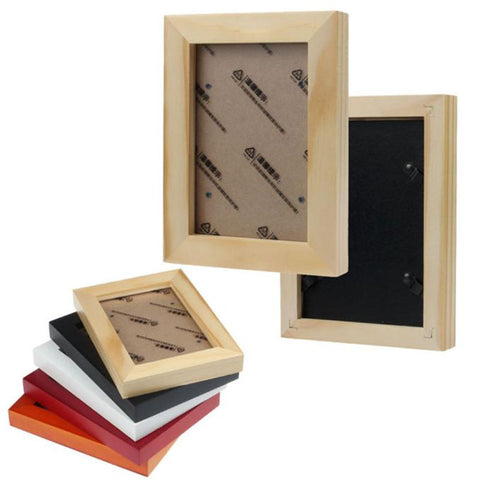 New 7 inch wooden picture  frame