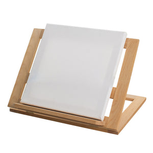 Student Exercise Wooden Art Table Easel  with Cotton Paint Cloth 12.5 x 15