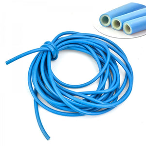 100FT 30M 7-Mode Upgraded Expandable Garden Water Hose Pipe with Spray Nozzle Blue