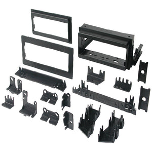 "Best Kits In-dash Installation Kit (gm Universal 1982-2003 With Factory Brackets & Flat .5"" & 1"" Trim Plates Single-din)"