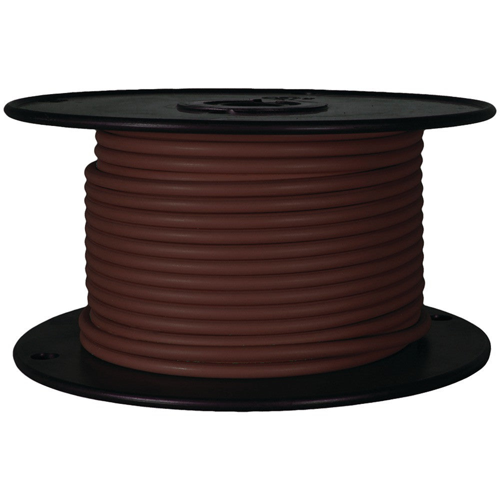 Battery Doctor Gxl Crosslink Wire 100ft Spool (18 Gauge Brown)