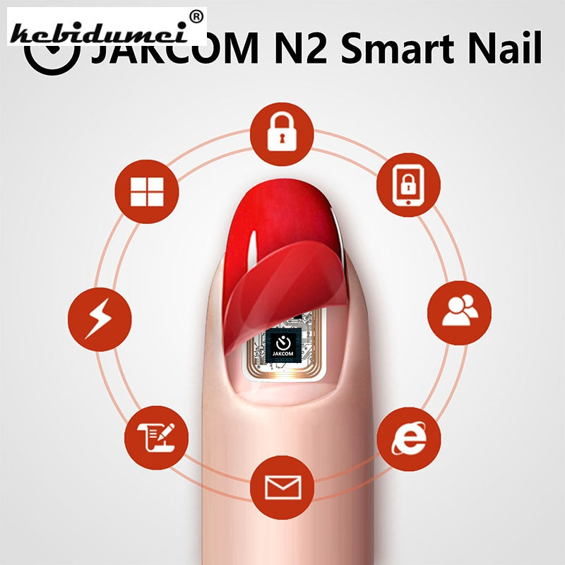 Hot JAKCOM N2 Smart Nail New Multifunction Intelligent Accessories No Charge Required New NFC Smart Wearable Gadget